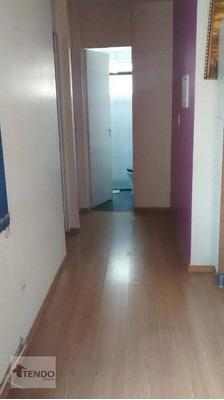 Apartamento 49 M² - 2 Dormitórios - Jardim Bandeirante - Diadema/sp - Ap0734