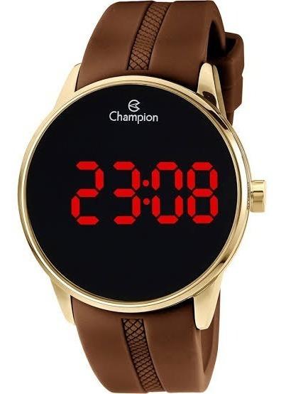 Relógio Masculino Champion Digital Ch40188h - Dourado