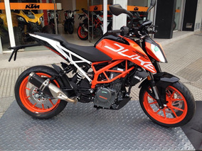 Duke 390 Blanca/naranja Gs Motorcycle