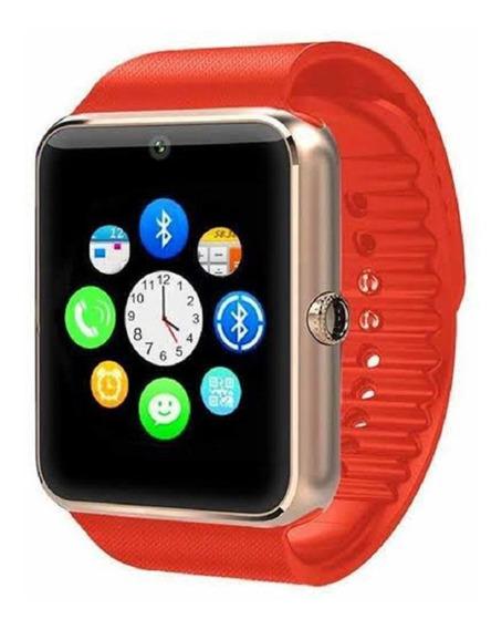Reloj Inteligente Celulat Gt08 Smartwatch Iwatch Camara Sim