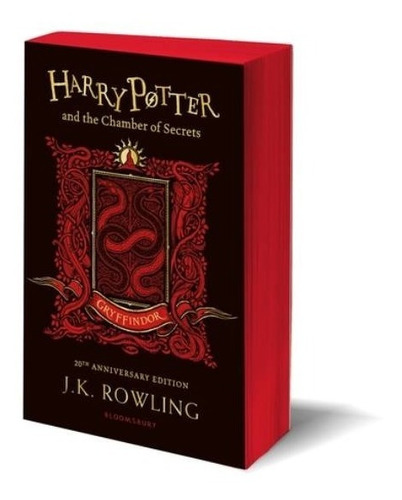 Harry Potter & The Chamber Of Secrets Gryffindor - T. Blanda