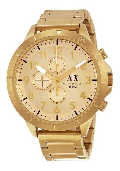 Reloj Armani Exchange Ax1752 Dorado