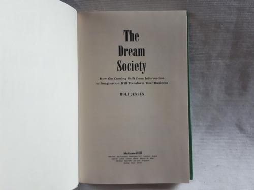 Imagen 1 de 7 de The Dream Society Rolf Jensen Mcgraw Hill Ingles Tapa Dura