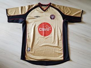 Camisa 3 Do Athletico Paranaense 2004 Dourada Umbro #10