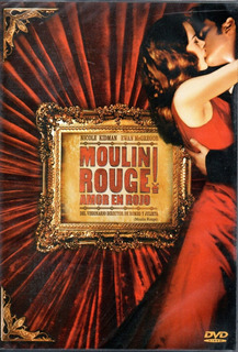 Dvd Filme Moulin Rouge - Dublado