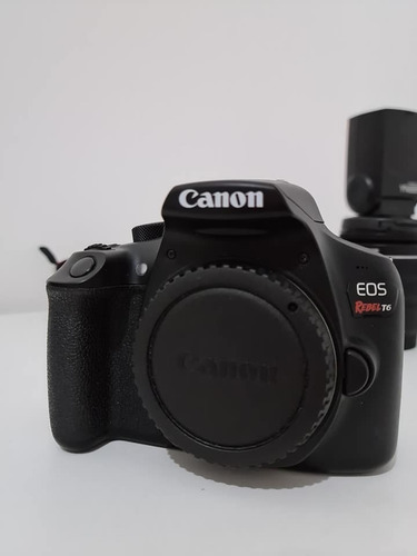 Canon T6 + Lentes + Acessórios