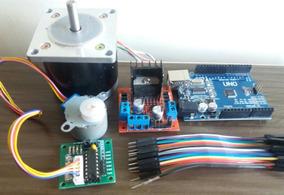 Arduino + Motor Passo + Driver- Microcontroladores Router