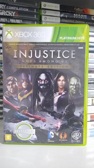 Injustice Ultimate Edition Mídia Física Xbox 360 Pt-br