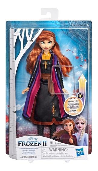 Muñecas Frozen 2 Hasbro E6952 Con Luz Ana Elsa Disney