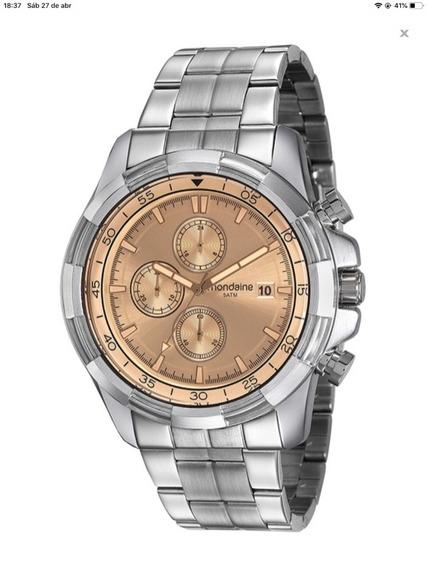 Relógio Masculino Mondaine Cronógrafo Cod 99263g0mvns1