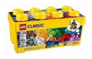 Caja De Ladrillos Lego Classic 484 Piezas Originales