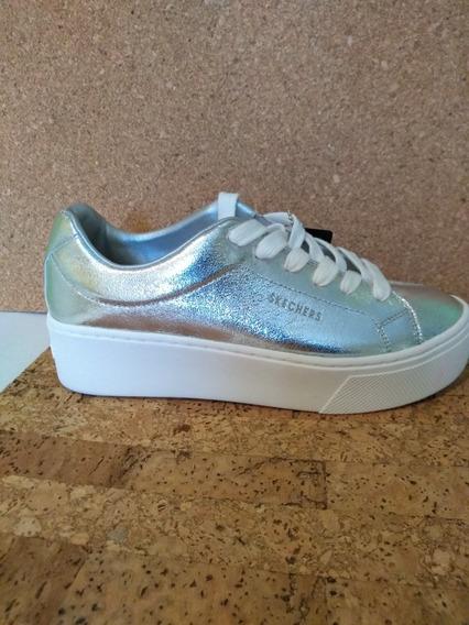 Zapatos Para Dama Skechers Street Plataforma