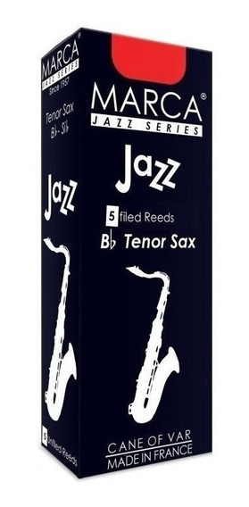 Marca Jz625 Cañas Saxo Tenor Jazz N° 2,5 Caja 5 Unidades