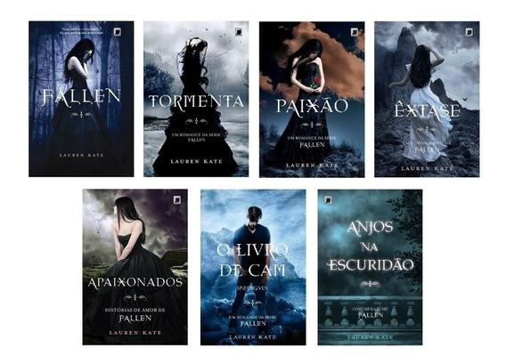 Kit Livros Fallen - 7 Livros - Lauren Kate
