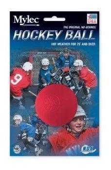 Bola Mylec Hockey Hot Weather Red