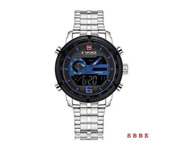 Relógio De Pulso Masculino Naviforce Nf 9119