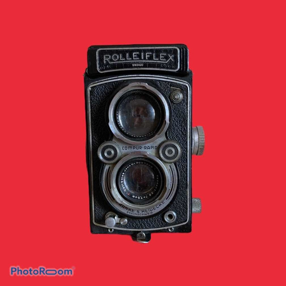 Máquina Fotográfica Antiga Rolleiflex