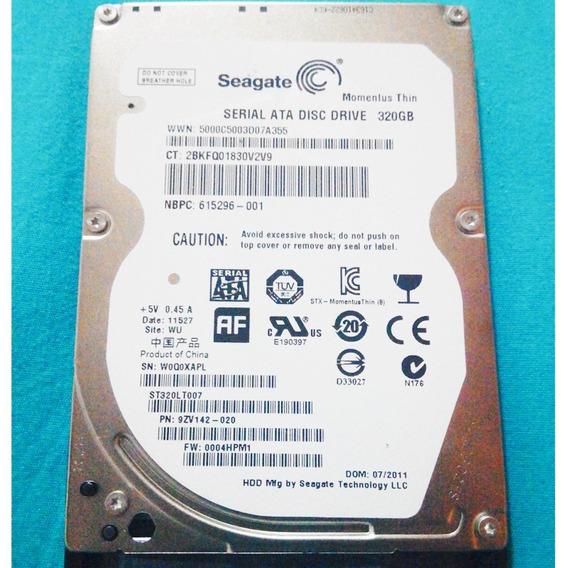 Disco 2.5 Seagate Laptop St9500325as - 500 Gb - Sata 50u
