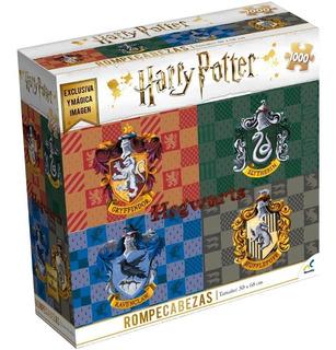 Hogwarts Escudos Harry Potter Rompecabezas 1000pz Novelty