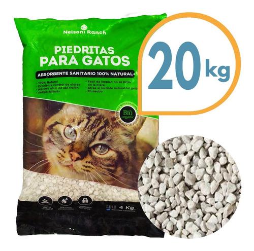 Piedra Sanitaria Gato Bio Organic 20 Kg / Mundo Mascota