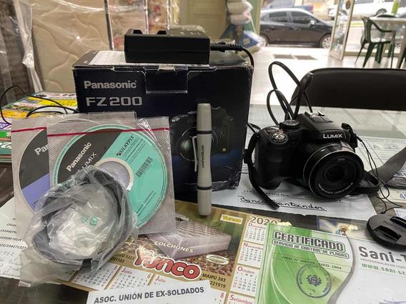 Camara De Fotos Panasonic Lumix. Fz 200