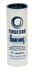 Tinta Para Tecido -tintol Azul Marinho Guarany - 12 Unidades