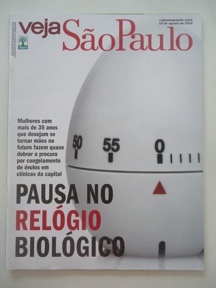 Veja São Paulo 19-ago-2015 Pausa No Relógio Biológico