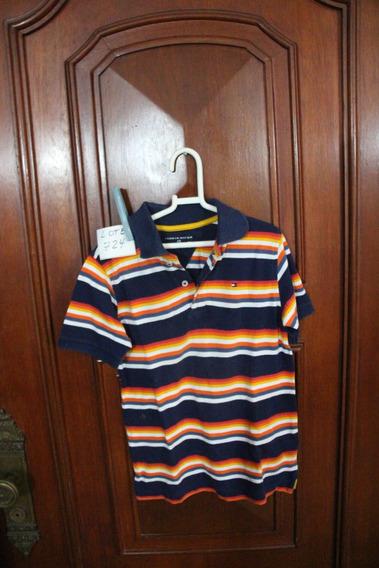 = Roupa Lote 724 Menino Camisa Polo 6/7 Tommy Hilfiger Sp Li
