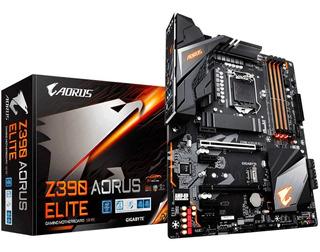 Tarjeta Madre Gigabyte Aorus Z390 Motherboard Socket 1151 Intel Core I3 I5 I7 I9 Nuevo Modelo