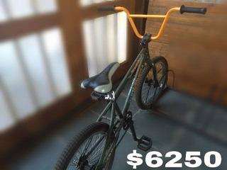 Bicicleta Bmx Top Mega