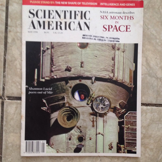 Revista Scientify American 05/1998 278 5 Shannon Lucid Peers