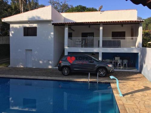 Chácara Com 2 Dormitórios À Venda, 1300 M² Por R$ 750.000,00 - Condomínio Zuleika Jabour - Salto/sp - Ch0009
