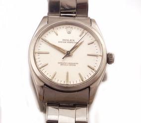 Relógio De Pulso Rolex Oyster Perpetual Aço Masculino J17317