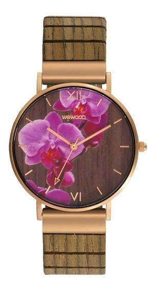 Relógio, Wewood, Aurora Flower Nut