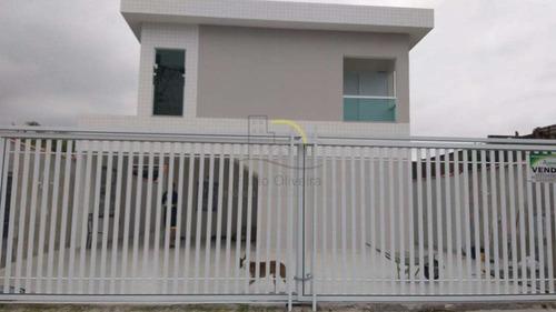 Casa De Condomínio Com 2 Dorms, Vila Ema, São Vicente - R$ 180 Mil, Cod: 2509 - V2509