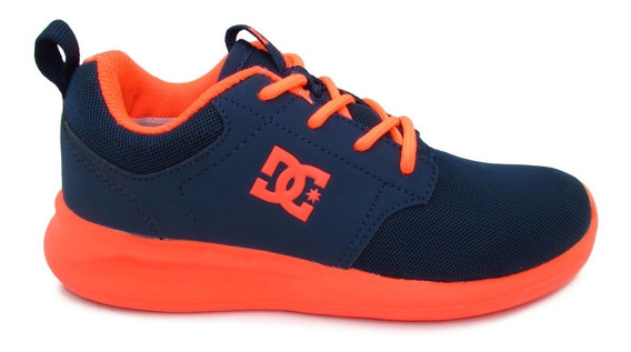 Tenis Dc Shoes Midway Sn Youth Adgs700021 Isb Insignia Blue