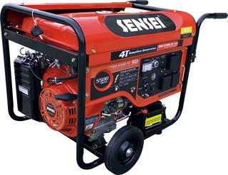 Generador A Explosión Sensei Mge-6500 Ae Avr 5500 Watts