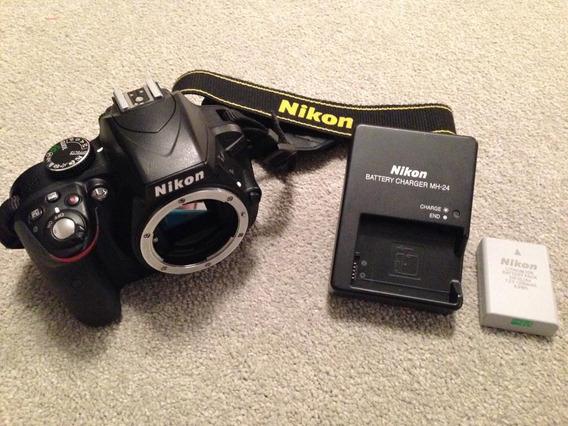 Body Nikon D3300 + Tripode De Regalo. Leer Info