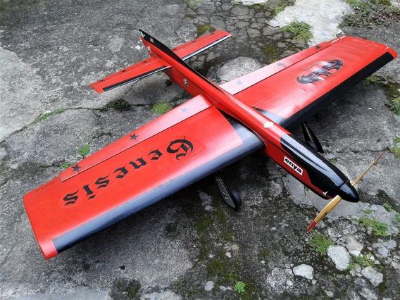 Aeromodelo Genesis-1 Para Vcc. Modelo Bob Hunt/ Motor La 40