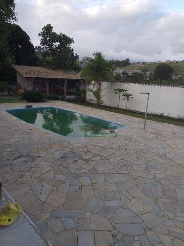 Imagem 1 de 14 de Chácara Com 3 Dormitórios À Venda, 2500 M² Por R$ 990.000 - Jardim Chácara Méa - Suzano/sp - Ch0419