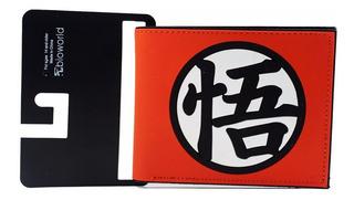 Billetera Dragon Ball Z Escudo Uniforme Cartera Importada