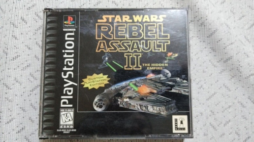 Ps1 Star Wars Rebel Assault Discos En Exelente Estado