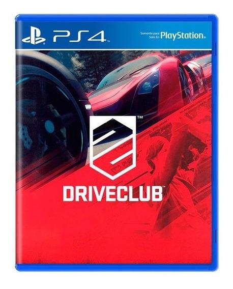 Driveclub Ps4 Mídia Digital Primária