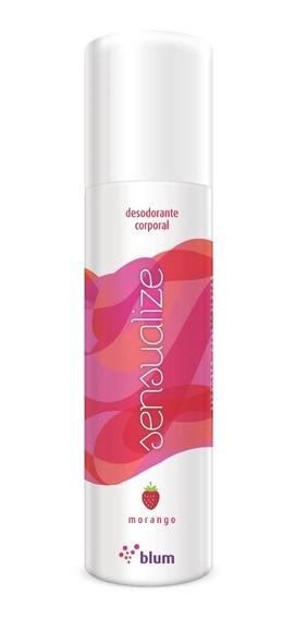 Kit 30 Unidades Desodorante Íntimo - Morango - Sensualize