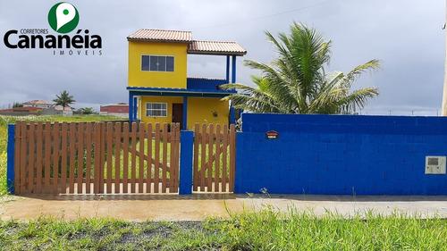 Imagem 1 de 23 de Agora É Pra Vender: R$ 160.000,00 - 3 Dormitórios (suíte), Próximo À Praia - Balneário Vila Rica - Ilha Comprida/sp - Ca00070 - 68384107