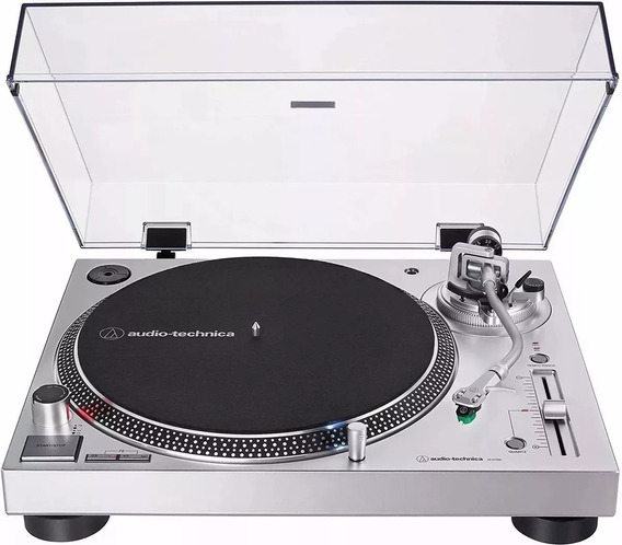 Toca Discos Audio Technica At- Lp 120x Usb/ Prata/bivolt