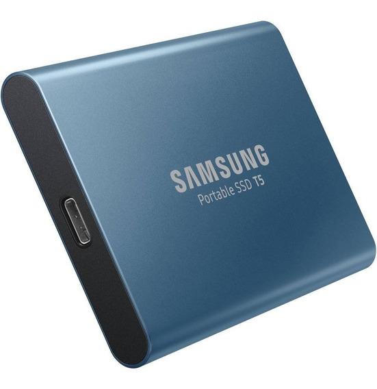 Hd Portatil Samsung 500gb T5 Ssd Usb 3.1 + Case