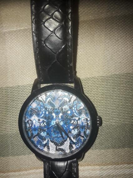 Relógio De Pulso Feminino Mondaine Pulseira Em Couro Sint