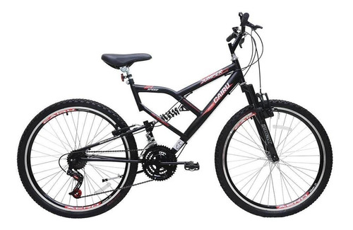 Bicicleta Cairu 26 Masc C/susp Jumper Boy Preta