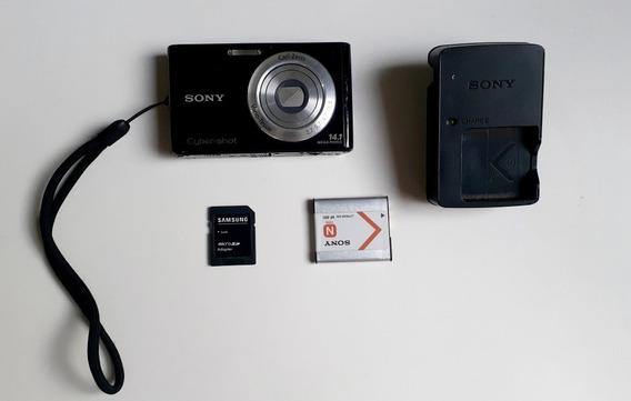 Camera Digital Sony Cyber Shot 14.1 Mega Pixels Com Defeito